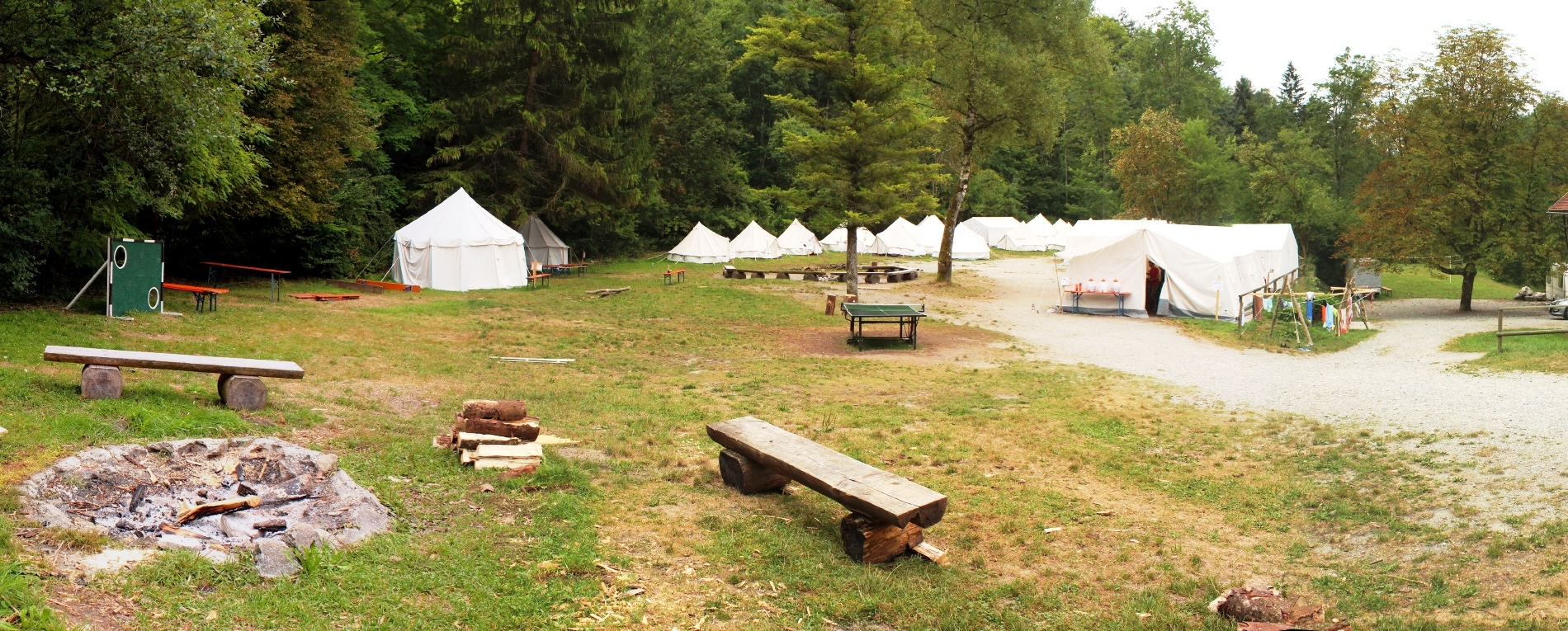 Lust auf Zeltlager?